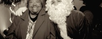 With Santa Claus at the Madison Posada '13